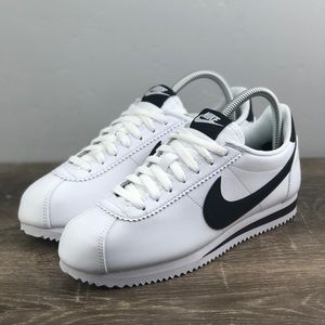 NEW Nike Classic Cortez White Leather